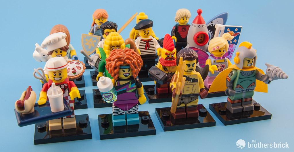 - Magenta Hair Only LEGO Headgear Hair Mohawk Minifig