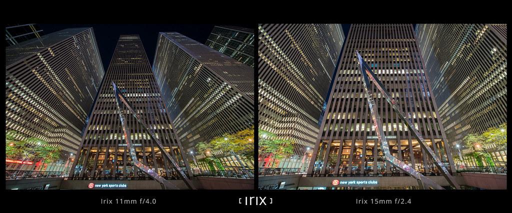 Irix 11mm F 4 0 Vs Irix 15mm F 2 4 Scene 4 Field Of View
