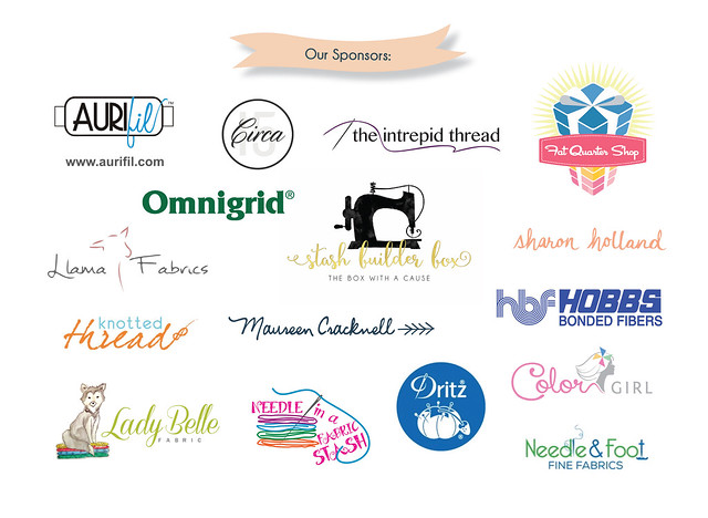 Our Sewcial Bee Sampler Sponsors