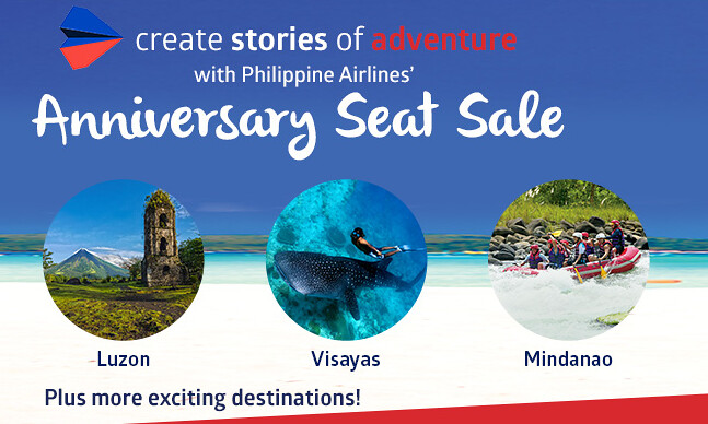 Philippine Airlines Anniversary Seat Sale 2017