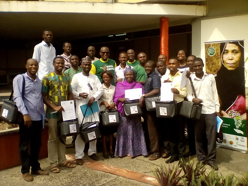 Participants and Trainers at the ACGG Nigeria vaccination training