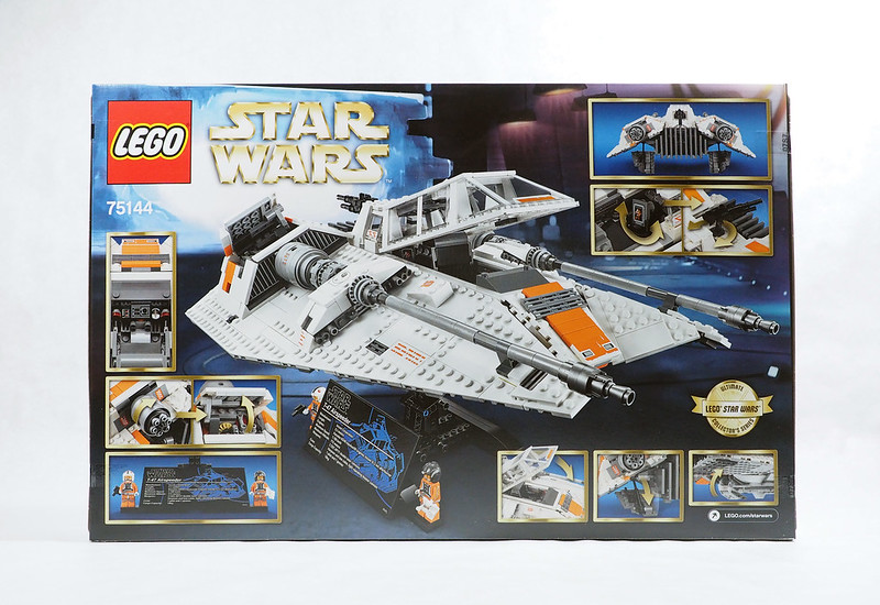 Review: LEGO Star Wars UCS Snowspeeder (75144)