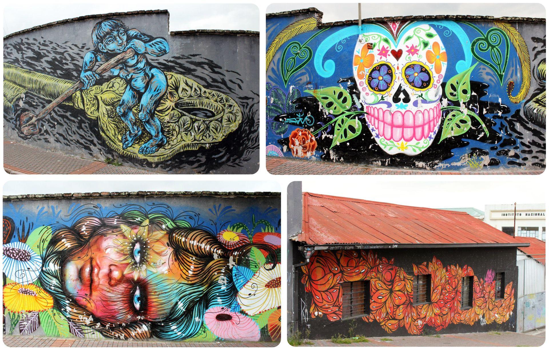 Quito Street Art Ecuador