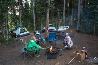 Campsite at Lewis Lake | by YellowstoneNPS