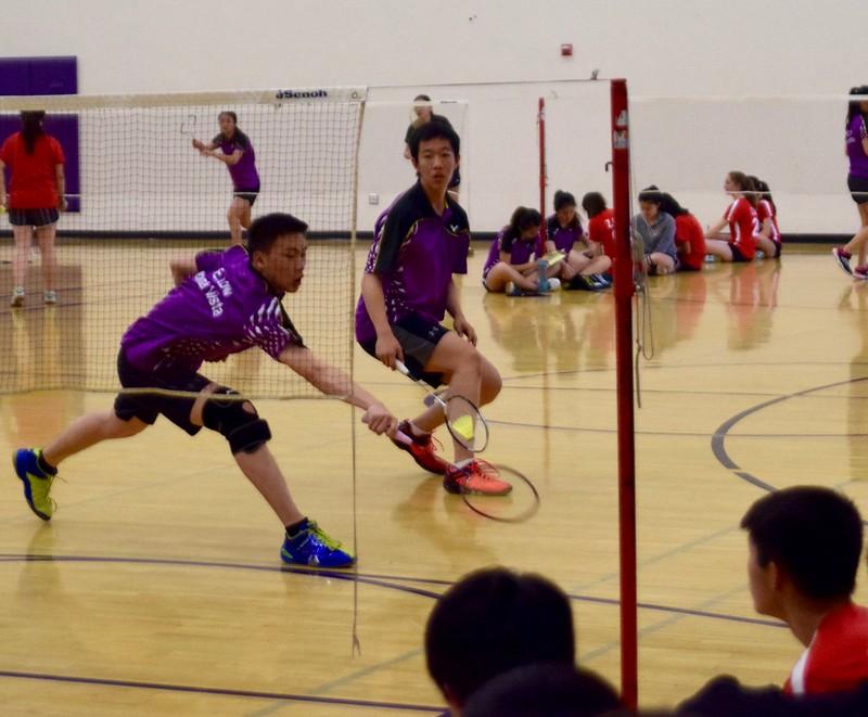 Badminton vs Gunn HS