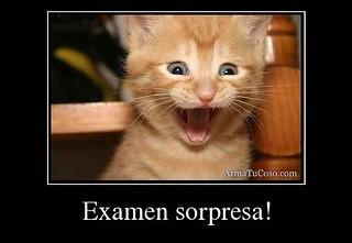 Examen sorpresa