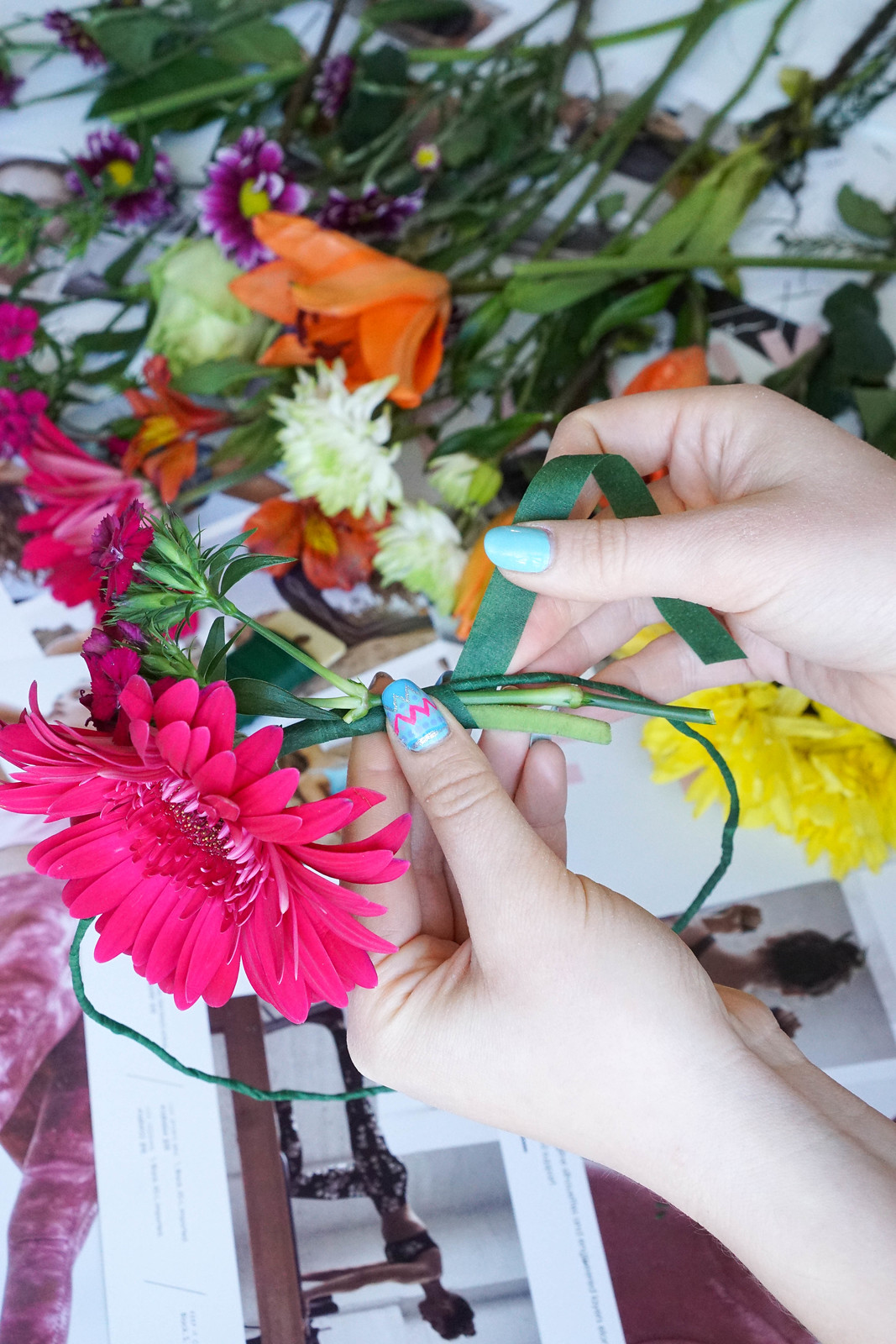 How to Make a Flower Crown Easy DIY Real Flower Crown Tutorial