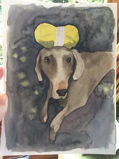 snorrepost watercolor