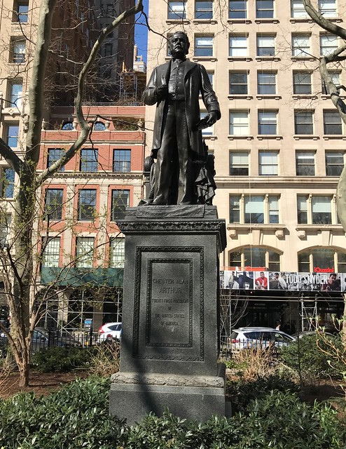 Chester Allan Arthur Statue