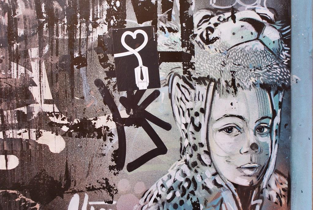 Street art à Bologne.