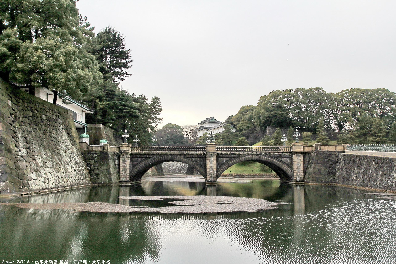 2016.03 日本東海道-皇居.江戶城.東京駅