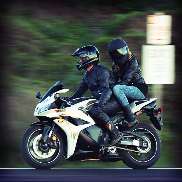 Riding two up. | For more info on this Honda CBR600RR: goo ...