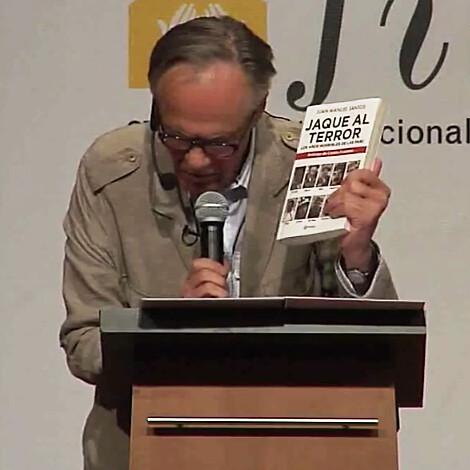 Fernando Vallejo en la 27a. Feria Internacional del Libro de Bogotá 2014, FILBo