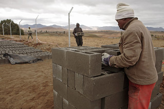 Lesotho - Metolong Dam Toilets&Brick Making - John Hogg - 090625 (3) | by World Bank Photo Collection