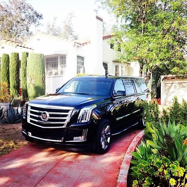 "Regram Via @jonnylieberman: ""2015 Cadillac Escalade ESV Me"