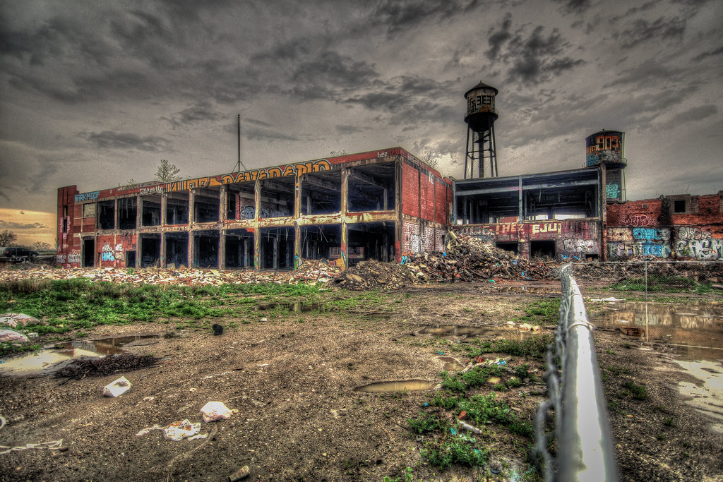 Eastern Market Abandoned Structure Hdr Found At The