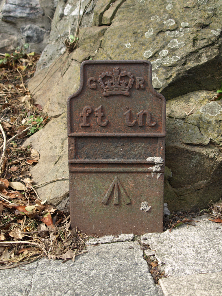 Old Gpo Cable Marker Mannamead Plymouth Devon Chris