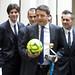 Renzi incontra la Nazionale di calcio a 5