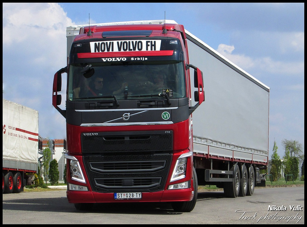 new volvo fh 500 the drivers fuel challenge serbia 2014. Black Bedroom Furniture Sets. Home Design Ideas