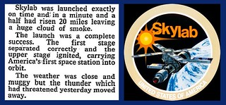 14th May 1973 - Skylab launched | by Bradford Timeline