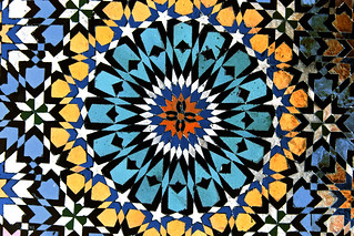 Geometric Tiles, Mosque of Moulay Idriss, Morocco | by Dimitry B