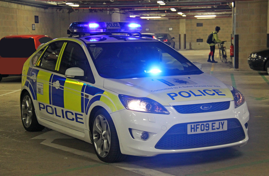 Dorset Police Roads Policing Unit Ford Focus St Traffic Ca