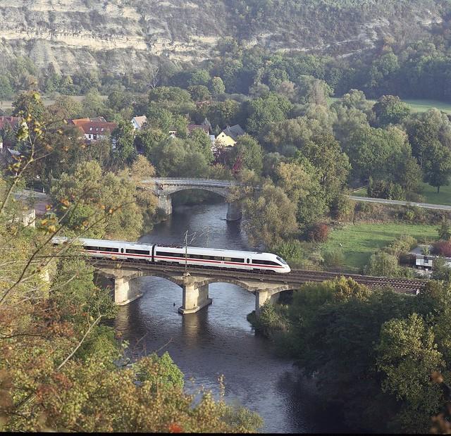 show topic traveling with deutsche bahn train travel