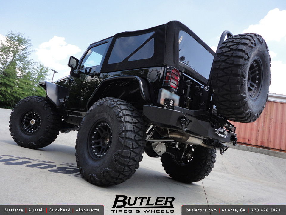 538 Jeep Wrangler Rubicon With 17in Atx 195 Wheels 40in Nitto Mud Grappler Tires: Borla Exhaust Jeep Wrangler At Woreks.co