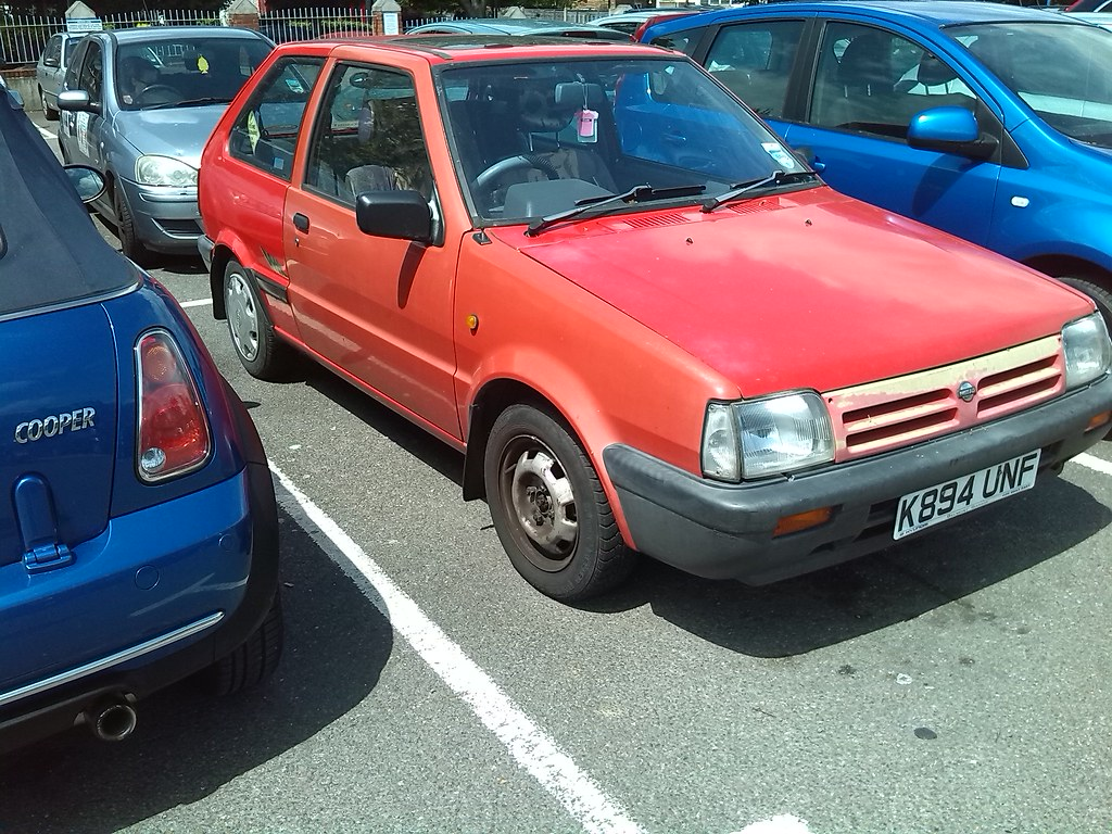 1992 nissan micra 1.2 lx auto   i caught it again, and this …   flickr