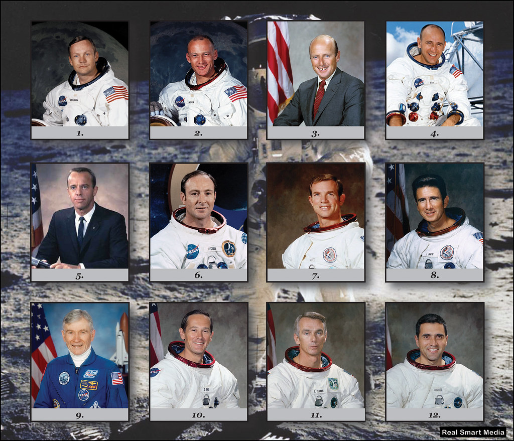 The 12 astronauts who walked on the moon between 1969 and ...