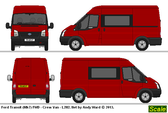 ford transit mk7 l2h2 fwd this drawing is free to use an flickr. Black Bedroom Furniture Sets. Home Design Ideas