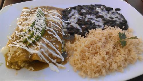 Enchiladas de Cangrejo