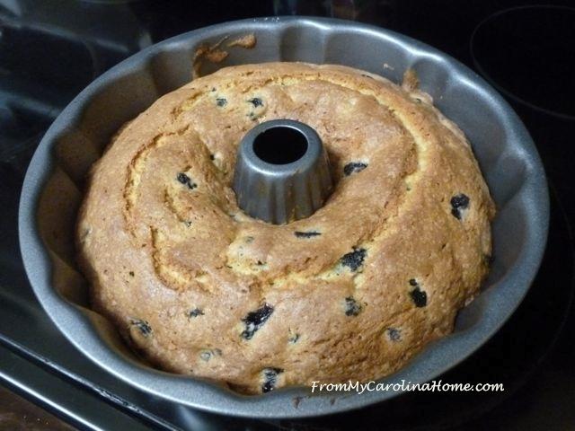 Blueberry Breakfast Cake @ From My Carolina Home