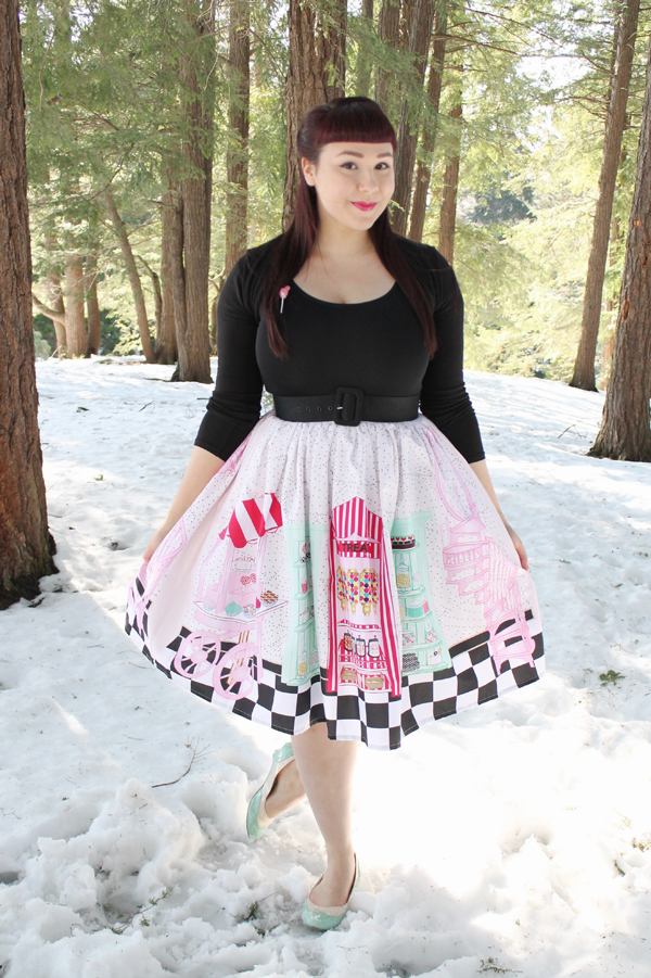 candy shop skirt