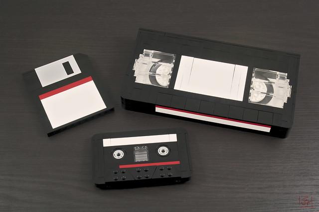 Disquette, cassette et VHS