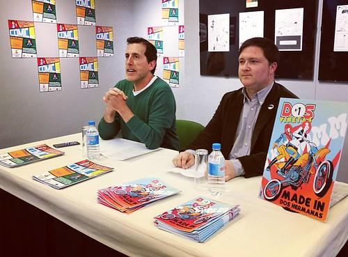 Presentación de la nueva revista de cómics Dos Viñetas
