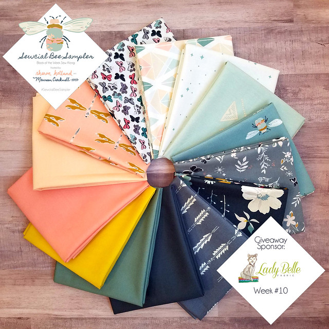 A Sewcial Bee Giveaway with Lady Belle Fabrics!