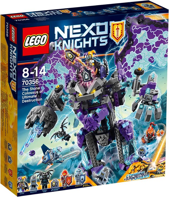 LEGO Nexo Knights The Stone Colossus of Ultimate Destruction (70356)