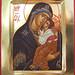 2017 Icône de la Mère de Dieu de Yaroslav - The Yaroslav Mother of God Icon.  Main de - Hand of Michèle Lévesque