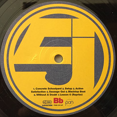 JURASSIC 5:JURASSIC 5(LABEL SIDE-B)