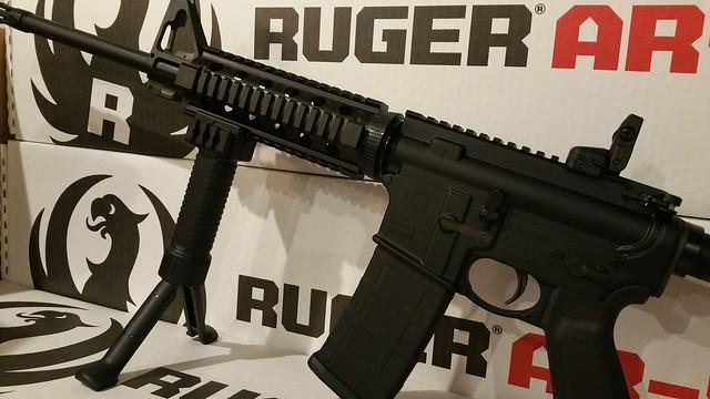Ruger 556 quad rail