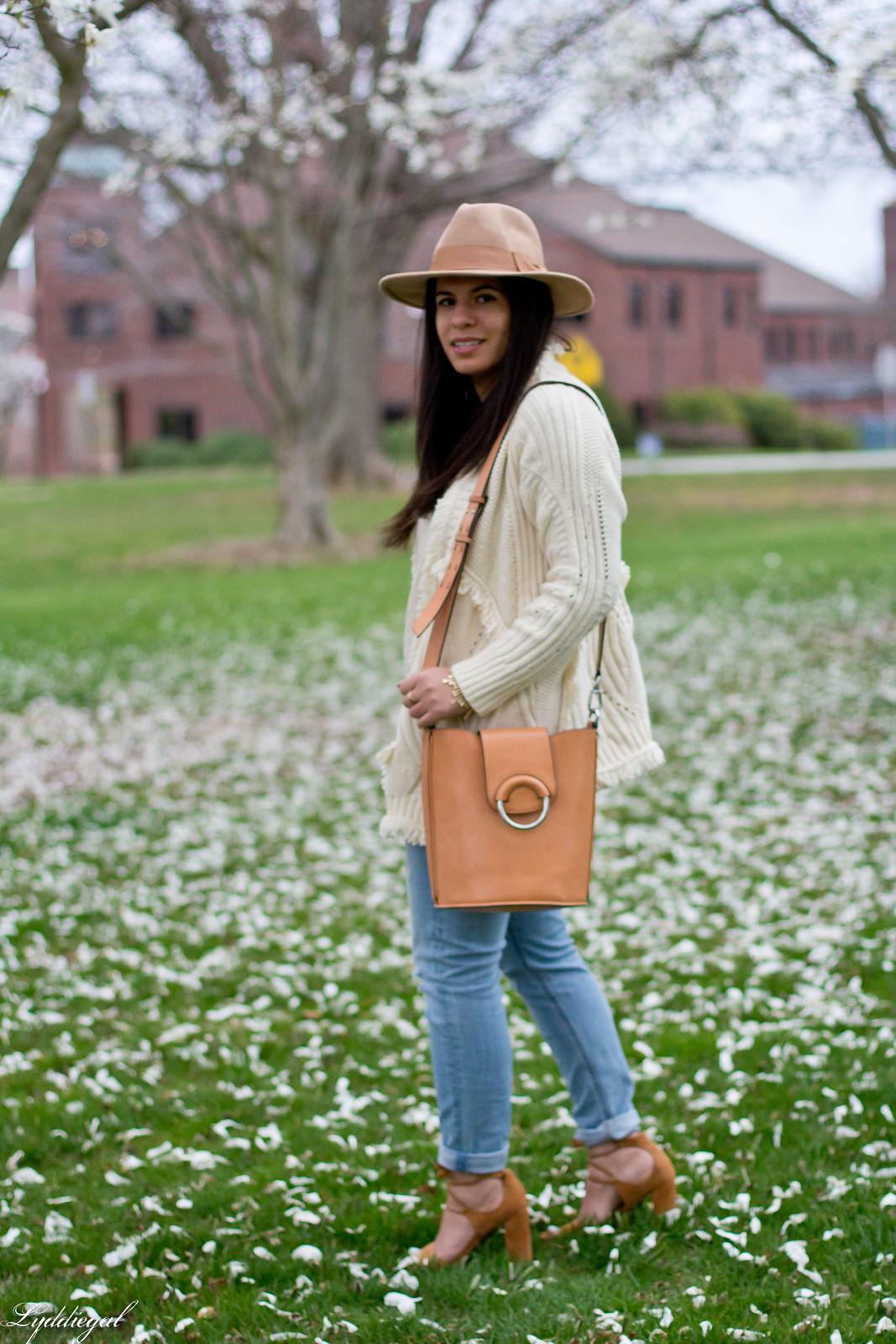 fringe cardigan, distressed jeans, wool fedora-2.jpg