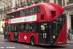 Wrightbus NRM NBFL - LTZ 1065 - LT65 - Liverpool Street 11 - Go Ahead London - London 2017 - Steven Gray - IMG_9325