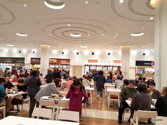 Mitsui Outlet Park Sapporo Kitahiroshima Food court