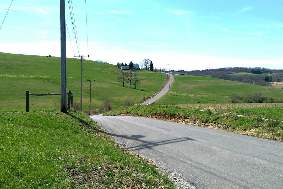Rolling Pennsylvania farmland