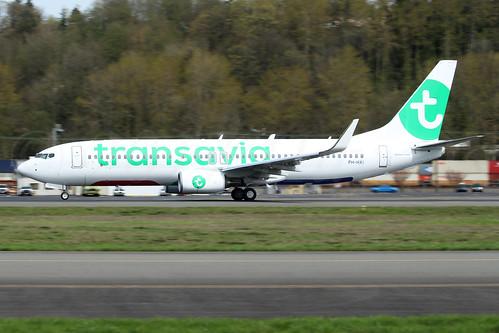 Boeing 737-8K2(WL) Transavia PH-HXI LN6352