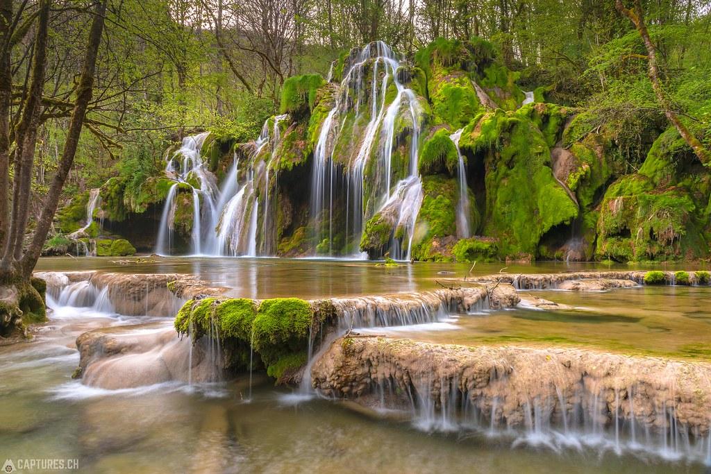 Cascades de tufs - Jura France