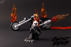 Ghost Rider for Maynifigure 2014 by kosbrick