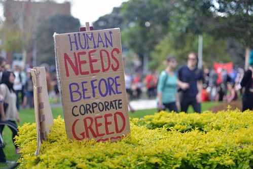 Human needs before corporate greed | by jaroslavd