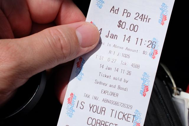 zone 3 bus ticket sydney - photo#23
